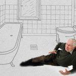 ¡Cuidado con las caídas de personas mayores en el hogar!